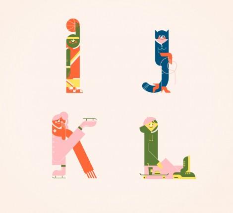Illustrated Alphabets von Vesa Sammalisto © (3)