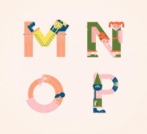 Illustrated Alphabets von Vesa Sammalisto © (4)