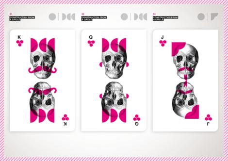 Barebone Cards von Mattia Castiglioni
