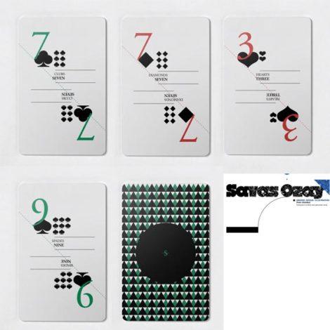 Spielkarten von Savas Ozay