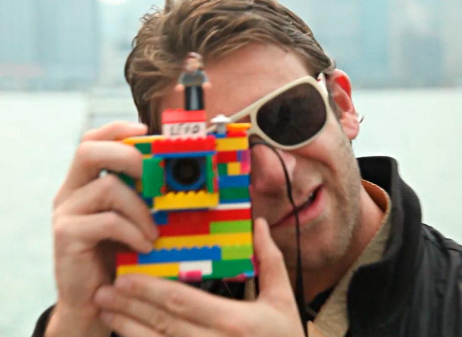 Chase Jarvis mit seiner Lego-Kamera