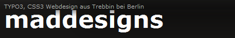 MadDesigns.de - Adventskalender