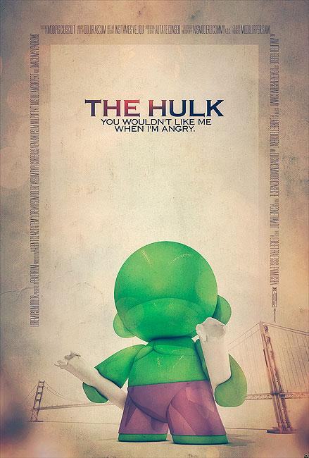 Hulk Filmposter von Tomasz Opasinski (©Tomasz Opasinksi)