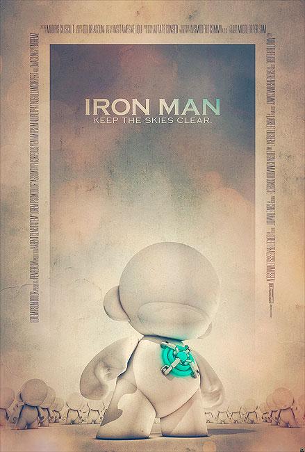 Iron Man Filmposter von Tomasz Opasinski (©Tomasz Opasinksi)