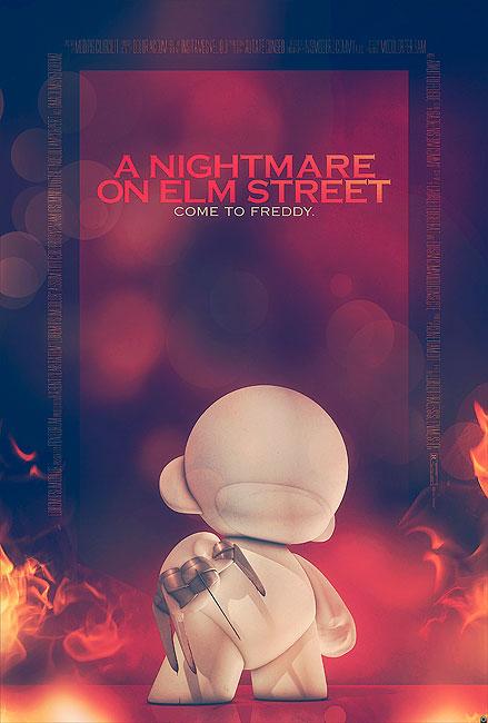 Nightmare On Elmstreet Filmposter von Tomasz Opasinski (©Tomasz Opasinksi)