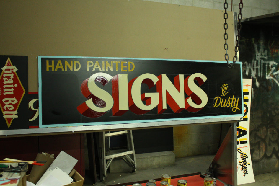 Hand Painted Signs von Dusty Signs