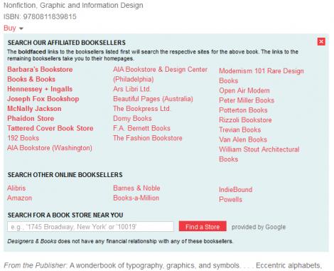 "Designers&Books ""Buy""-Dialog"
