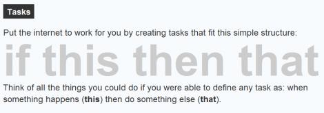 If This Then That – Webtool zur Automatisierung