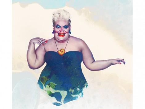 """Ursula aus """"Arielle die kleine Meerjungfrau"""" (©Jirka Väätäinen)"""