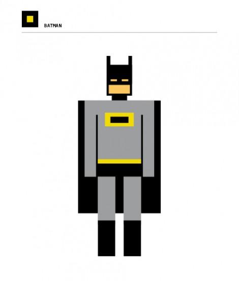 Squared Batman
