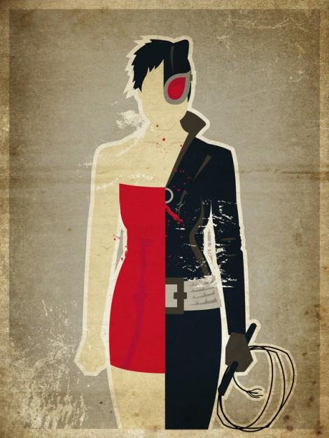 "Selina Kyle a.k.a. ""Catwoman"""