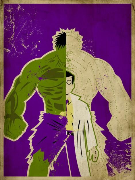 """Dr. Bruce Banner a.k.a. """"Hulk"""""""