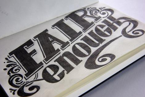 Sketchbook Types von Matthew Crouch