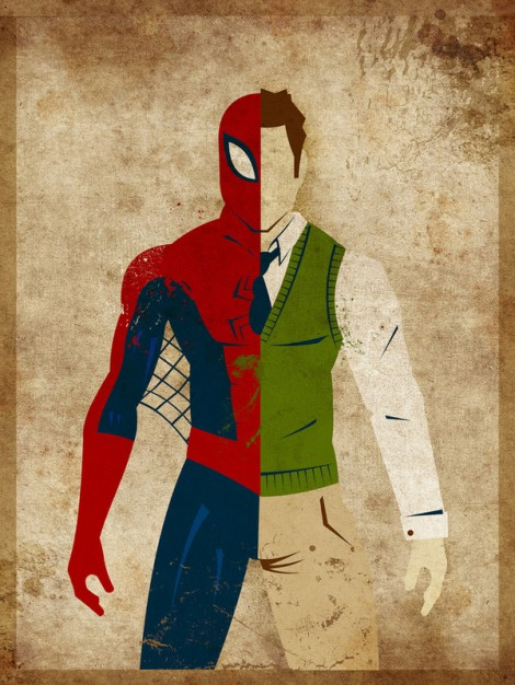 "Peter Parker a.k.a. ""Spiderman"""