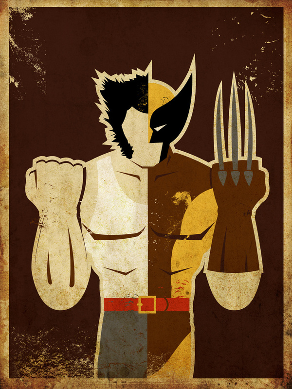 """James """"Logan"""" Howlett a.k.a. """"Wolverine"""""""