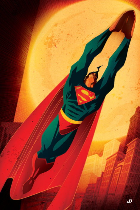 Superman Pin-up (2005) DC Comics