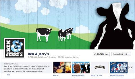 Das Coverfoto von Ben & Jerry's