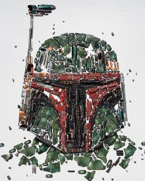 Star Wars Identities – Boba Fett (Detail)