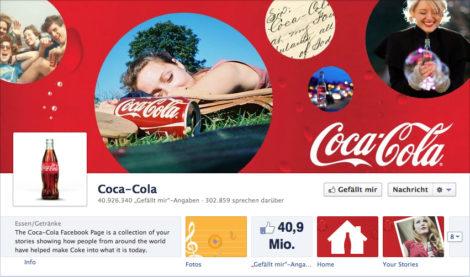 Das Coverfoto von Coca-Cola