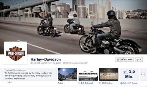 Das Coverfoto von Harley-Davidson