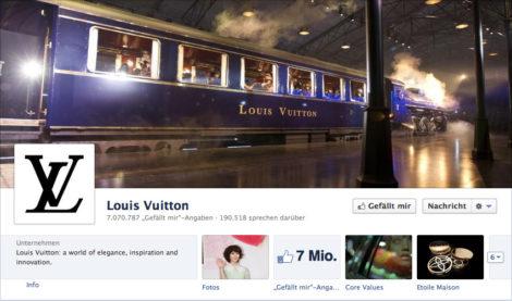 Das Coverfoto von Luis Vuitton