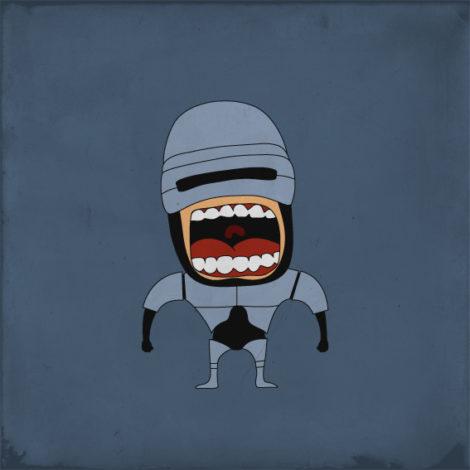 Screaming Robocop