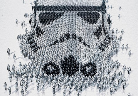 Star Wars Identities – Stormtrooper (Detail)
