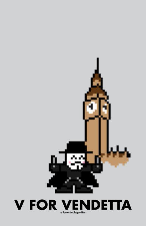 8-Bit V for Vendetta
