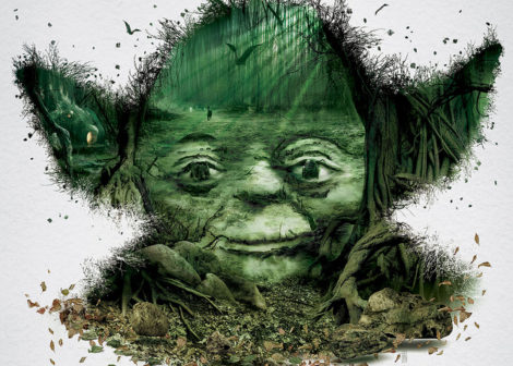 Star Wars Identities – Yoda (Detail)
