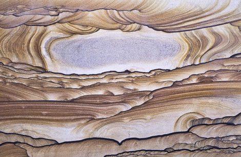 """""""Versteinerte Sanddüne"""" von Harald Metzger"""
