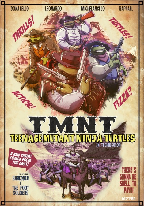 Teenage Mutant Hero Turtles Western