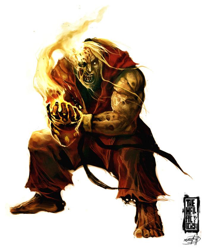 Zombie Ken Masters