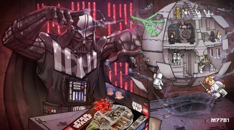 Darth Vader Lego-Todesstern