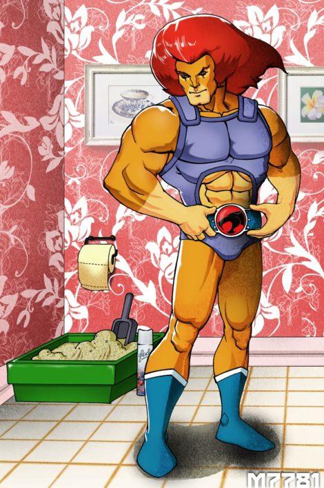 ThunderCats Lion-O Katzenklo