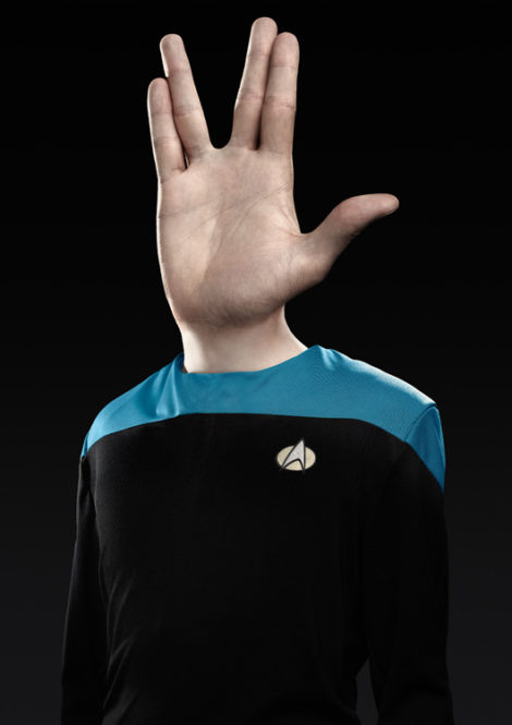 Hands up! Star Trek von Paul Ripke