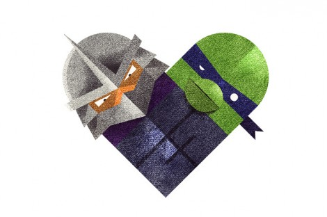 Shredder ♥ Leonardo
