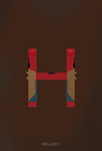 H wie Hellboy