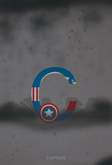 C wie Captain America