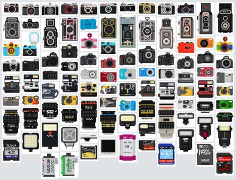 The Camera Collection von Bill Brown