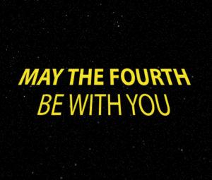 Möge die Macht (des 4. Mai) mit euch sein!