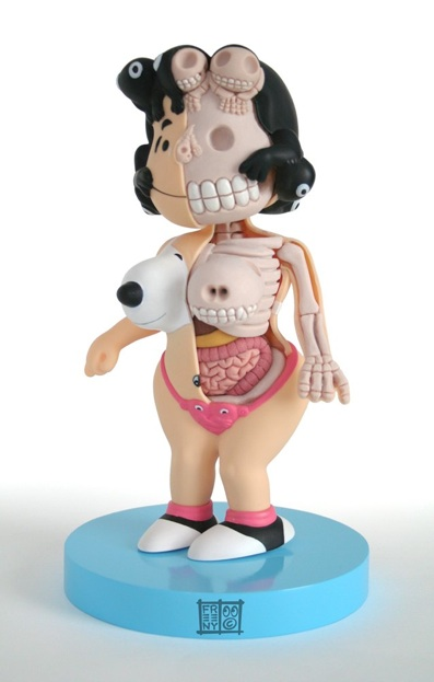 Lucy von den Peanuts