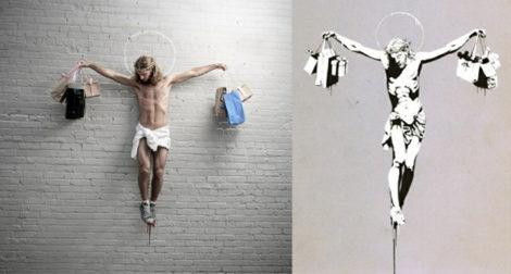 Banksy Jesus