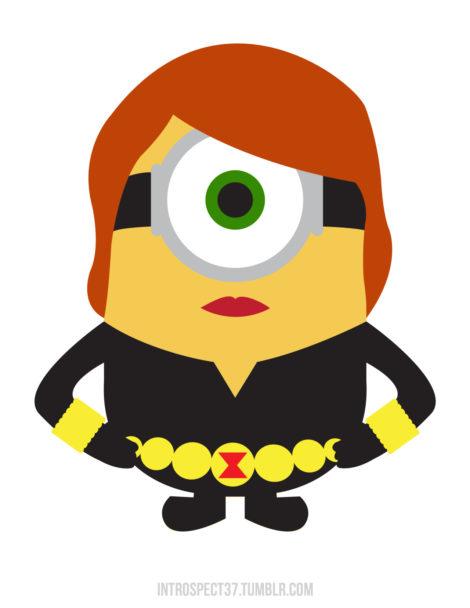 Minion-Black Widow