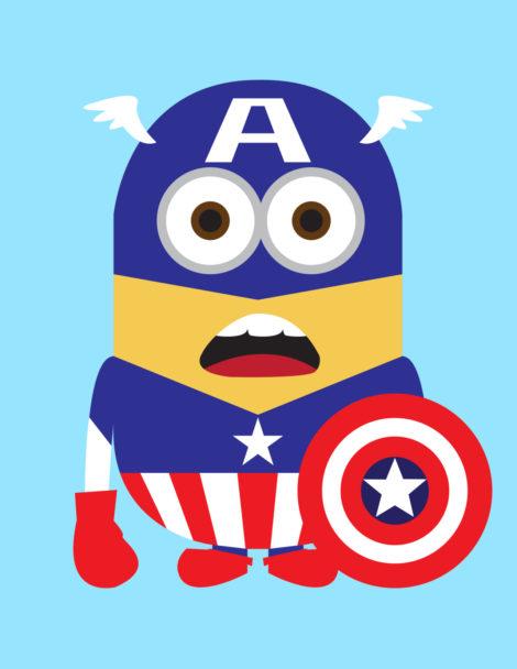 Minion-Captain America