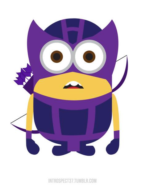 Minion-Hawkeye