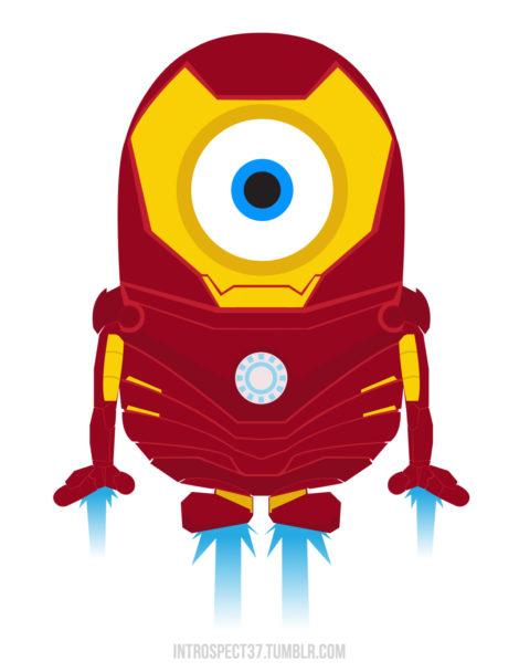 Minion-Iron Man