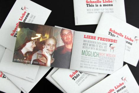 Schnelle Liebe Speisekarte 2