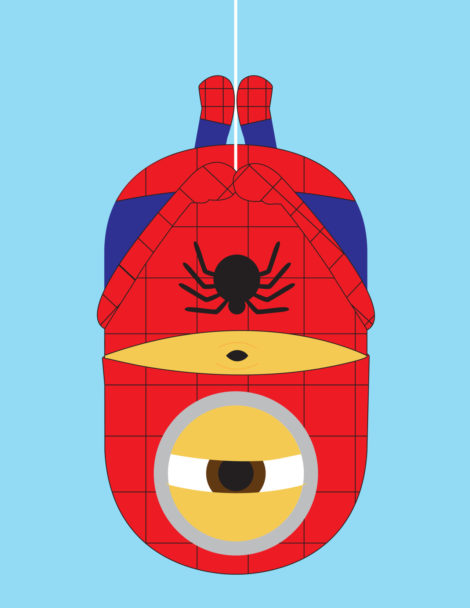 Minion-Spiderman