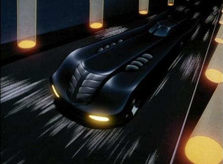 "Batmobile aus ""Batman: The Animated Series"""