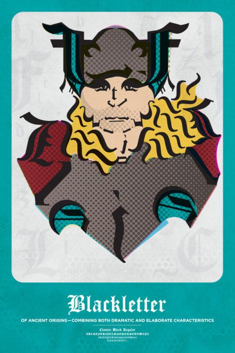 Blackletter Thor